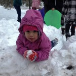 Here's Haley -Crazy about the snow
